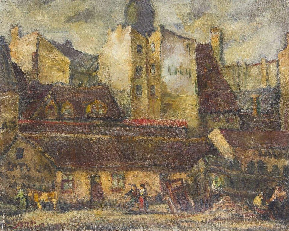 Old city of Riga, Alters Arturs Ritovs