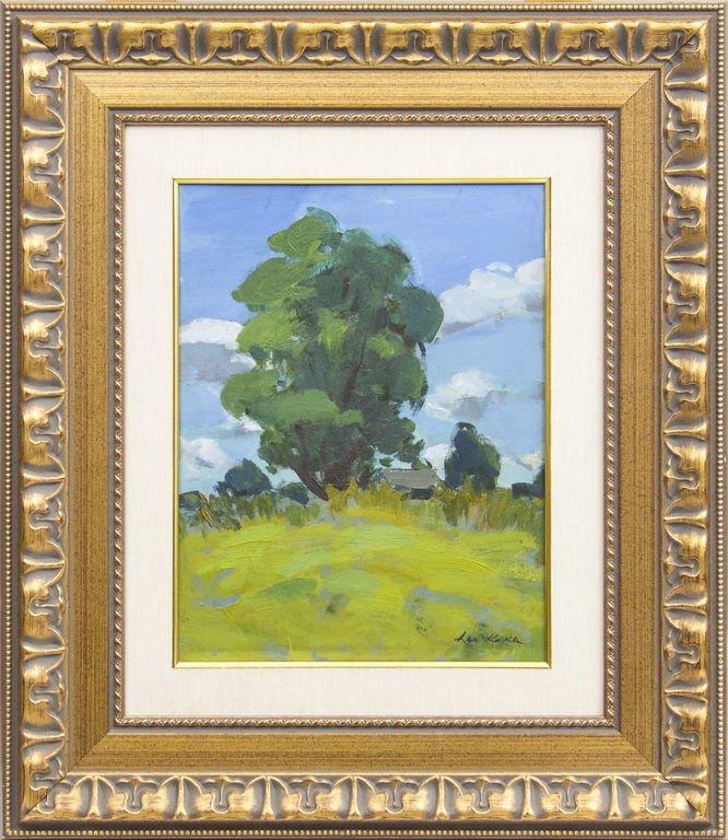 Summer landscape, Leo Kokle