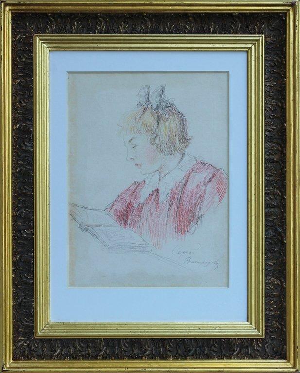 Reading girl, Sergejs Vinogradovs