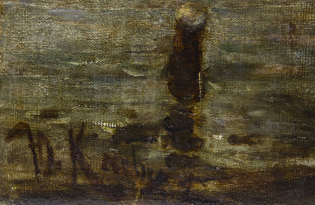 Dock in the moonligth, Julijs Klevers - 3