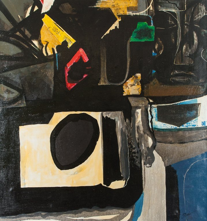 Abstract composition, Rudolfs Pinnis