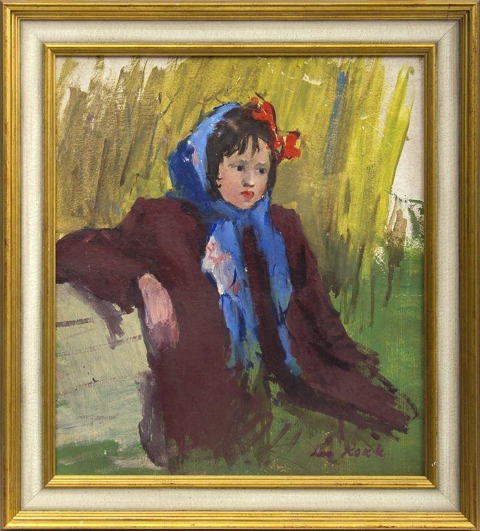 The girl (Studio), Leo Kokle