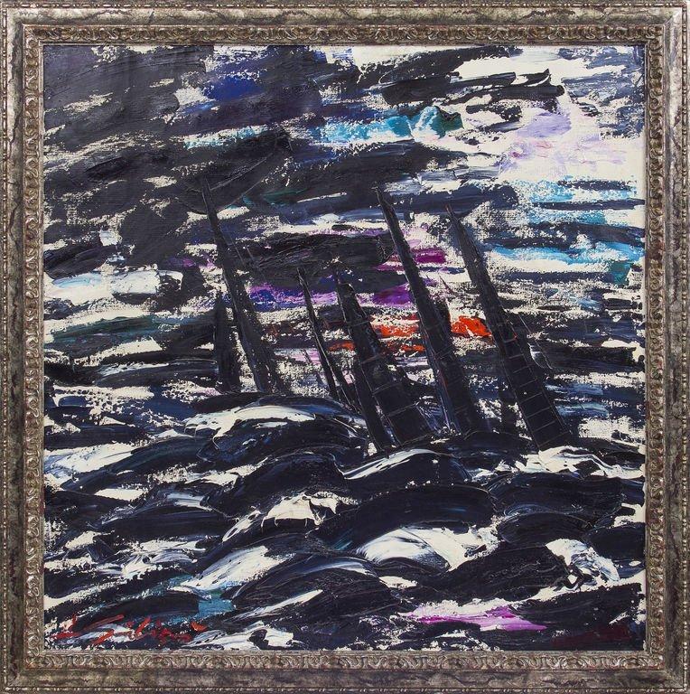 Black regate, Herberts Ernests Silins