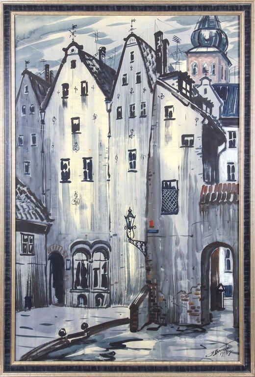 Old Riga, Janis Brekte