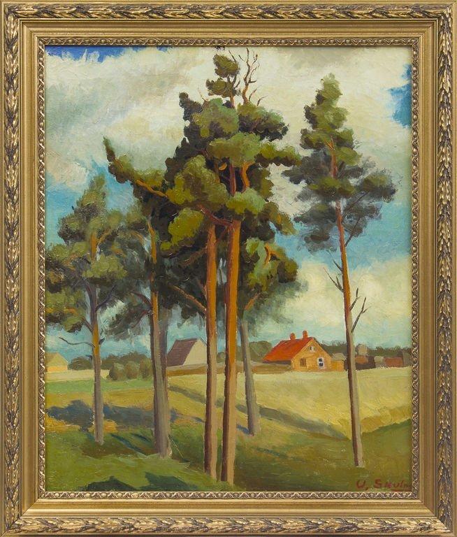 Pines (Summer landscape), Uga Skulme