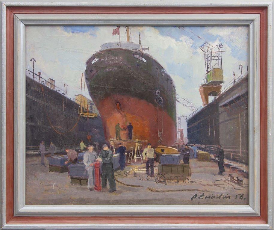 Ship, Aleksandrs Zviedris