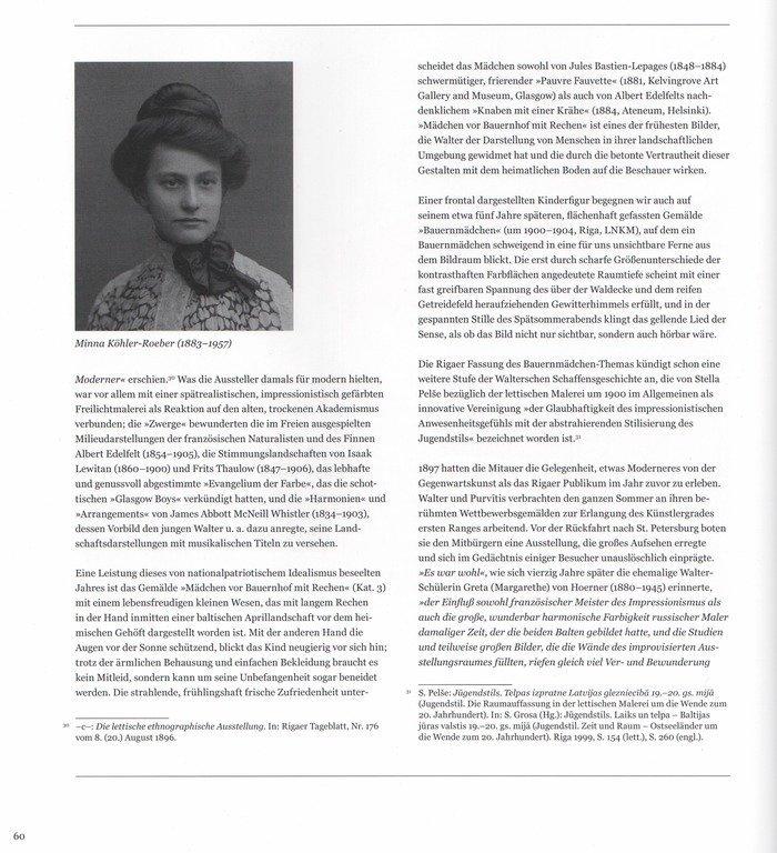 Portrait of Madam Minna Roeber, Janis Valters - 9