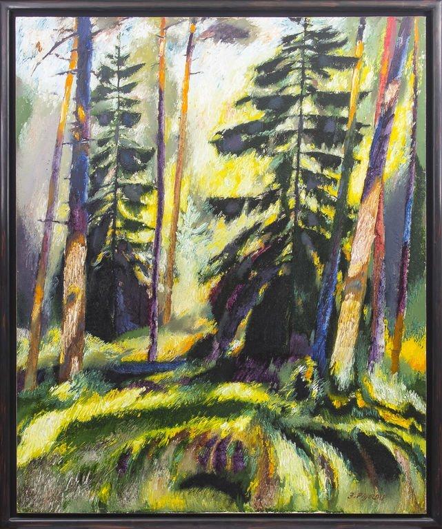 Forest in summer, Jazeps Pigoznis