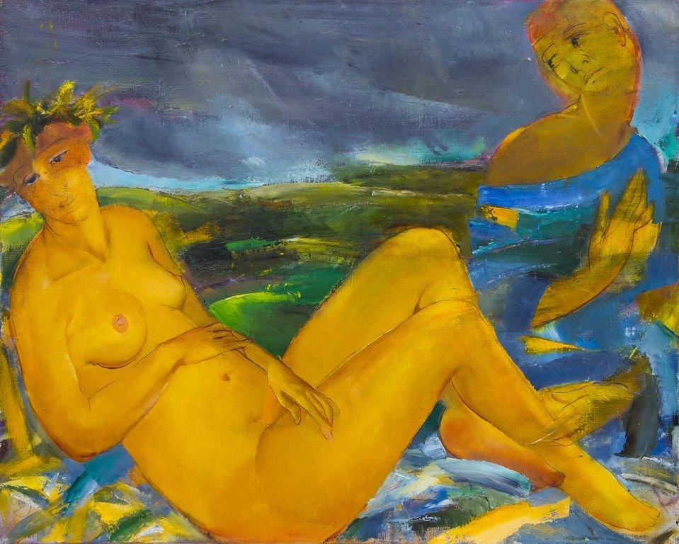Mary and the angel, Lauma Sika