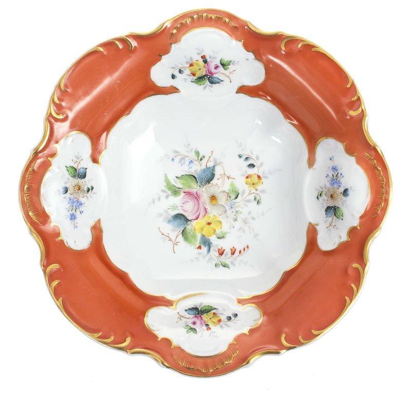 Porcelain sweet utensil Kuznetsov
