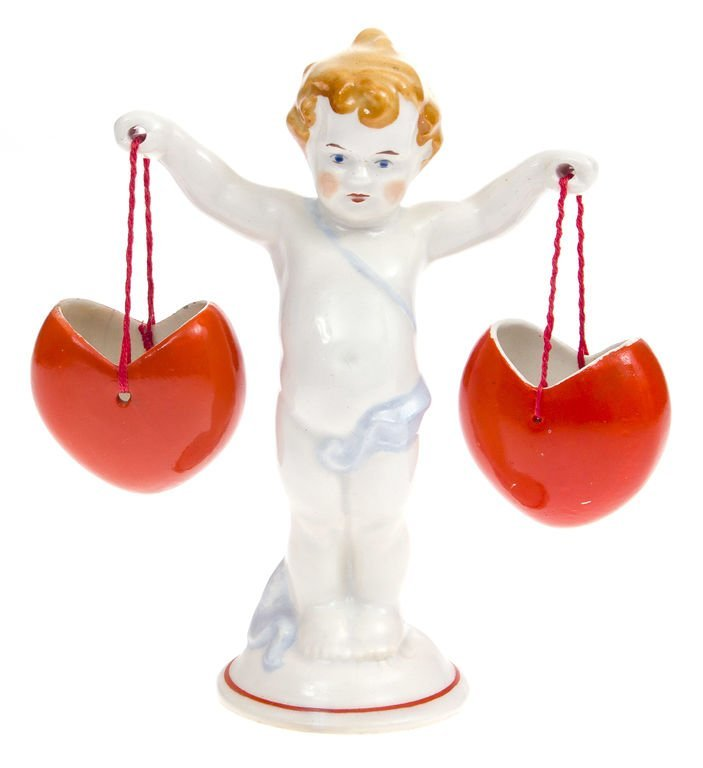 "Porcelain figurine ""Valentine"" 1940-1941 Latvia"