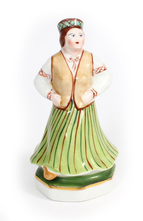 "Porcelain figurine ""Folk Dancer"" 20th century 30's"