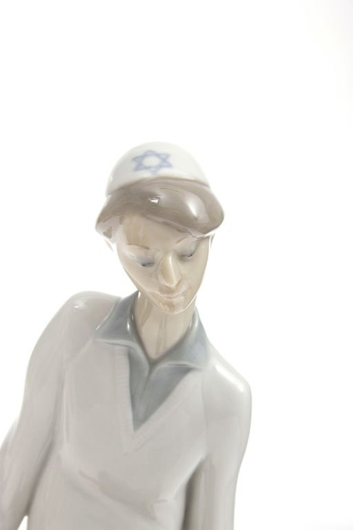 """Porcelain figurine """"The boy with the book"""" Spain - 5"""