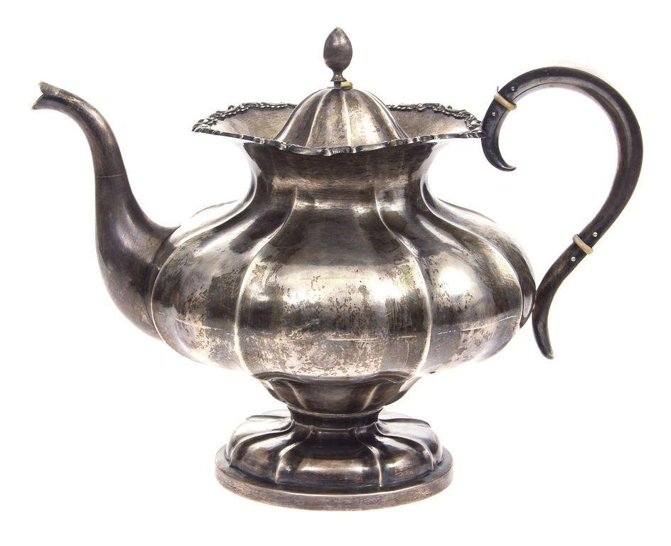Silver pot 20th century 30's Latvia