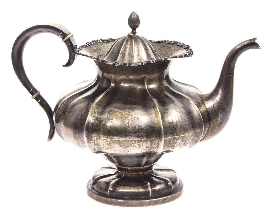 Silver pot 20th century 30's Latvia - 2