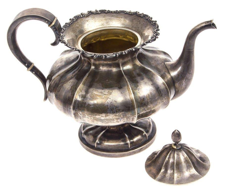 Silver pot 20th century 30's Latvia - 3