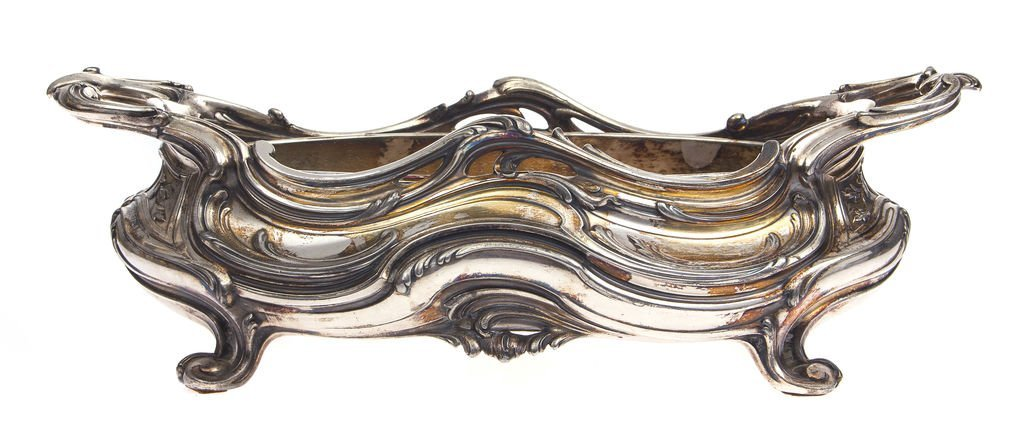 Silver plated metal utensil Victor Saglier(1809-1894)