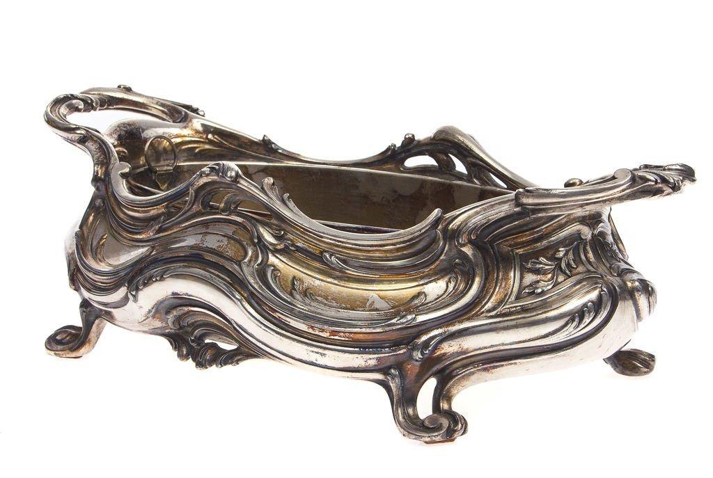 Silver plated metal utensil Victor Saglier(1809-1894) - 2
