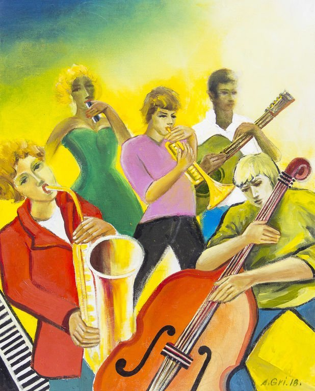 Jazz, Anatolijs Griscenko
