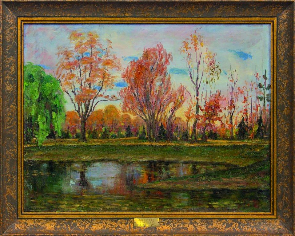 Autumn landscape, Janis Muncis