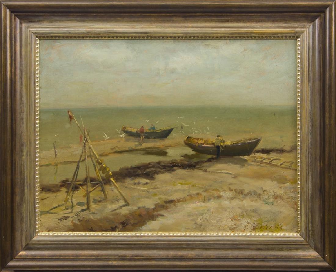 Fishing boats, Aleksandrs Zviedris