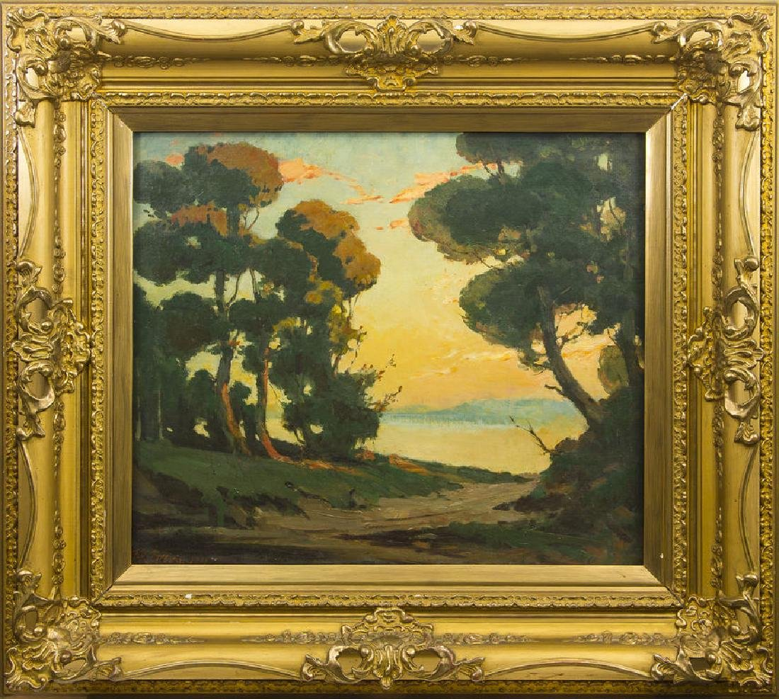 Summer landscape, Janis Roberts Tilbergs