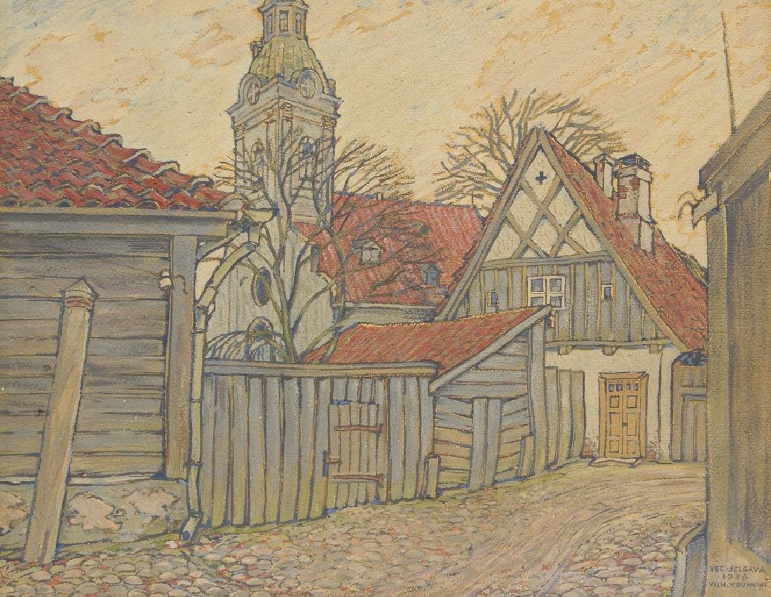 Old Jelgava, Vilis Krumins