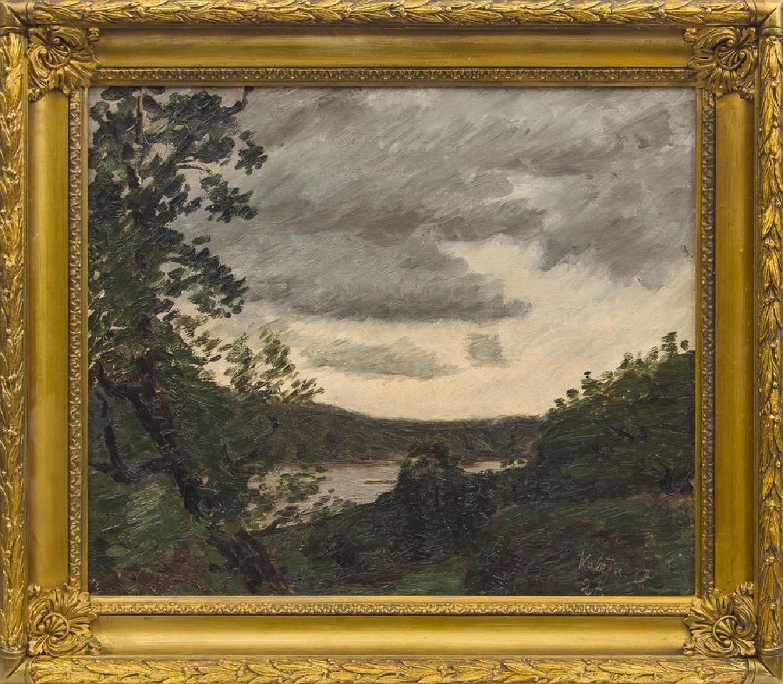 Evening landscape, Oskars Kalejs
