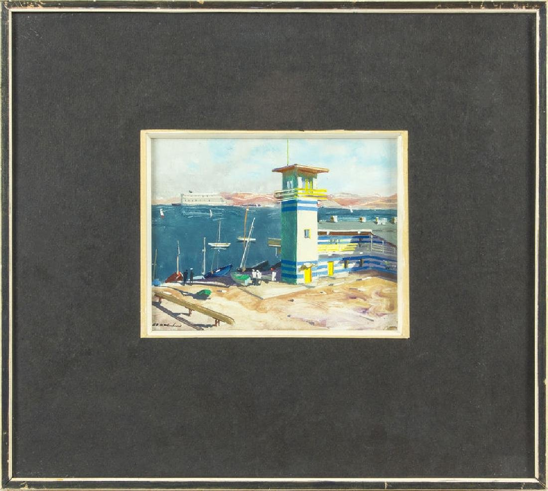 Sevastopol. Yacht Club, Eduards Kalnins