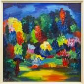 Autumn landscape, Herberts Ernests Silins