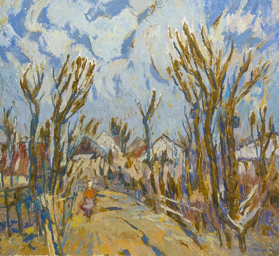Spring landscape, Hermanis Doncovs