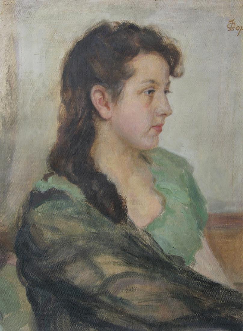 Portrait of an Aristocrat Anastasia Vitkovska