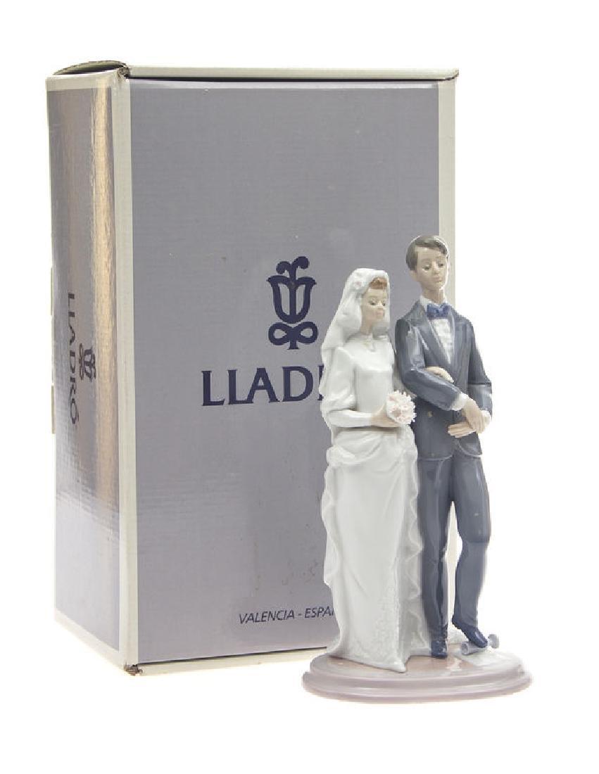 "Lladro porcelain figurine ""Jewish wedding"""