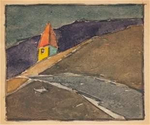 Landscape; Frederick Fibig (1885-1953)