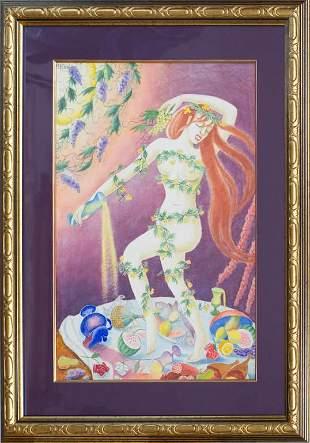 Fun feast; Hilda Vika (1897-1963)