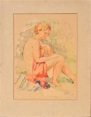 Act; Elza Druja-Forsu (1906-1991)