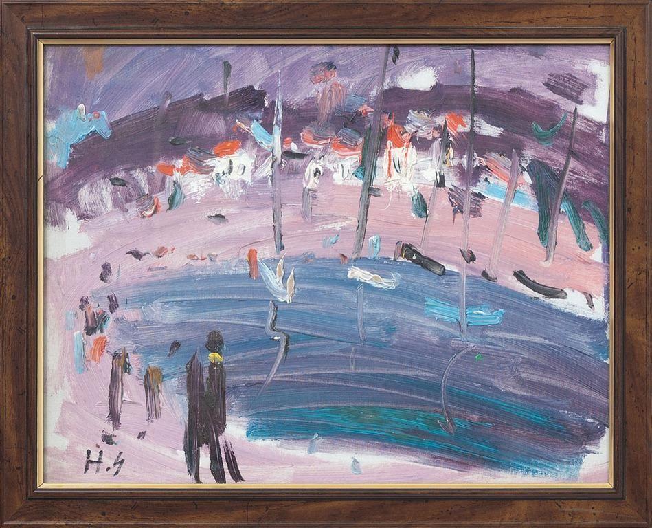Landscape; Herberts Ernests Silins (1926-2001)