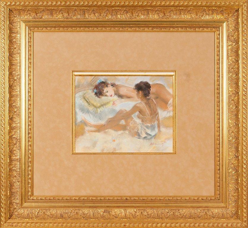 In the boudoir, A. Danurat