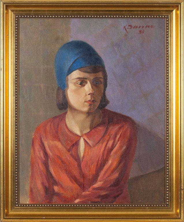 Women portrait, Karlis Danne