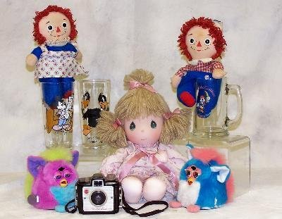 3: ASSORTED LOT OF TOYS INCLUDING BATTERY OPERATED FURB