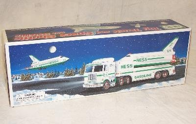 5: HESS TOY TRUCK, SPACE SHUTTLE, AND SATELITE  NEW IN