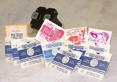 7: VIEWMASTER IN ORIGINAL BOX WITH FAIRY TALE SLIDES