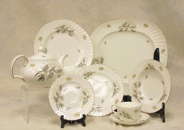 18: Service for eight, Adderly, fine bone china, Englan