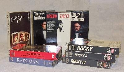 4: A lot of VCR and DVD movies Category: Films