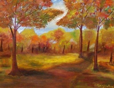 7: O/C landscape decorative art Category: Art