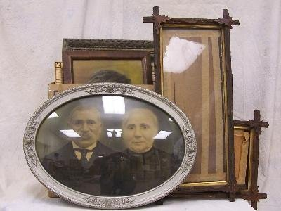 21: Assorted lot of frames including Victorian Category