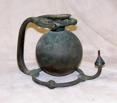 95: 19th c bronze ship's gimbal Category: Marine collec