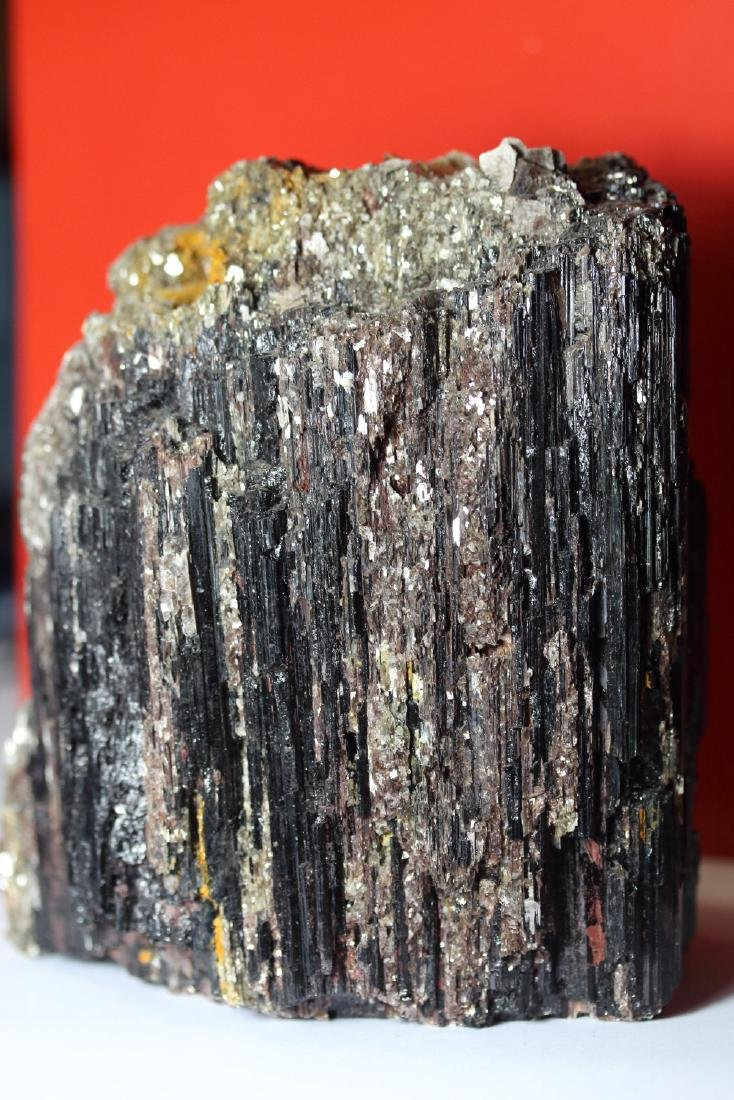 Natural Collectors Rare Black Tourmaline with Mica