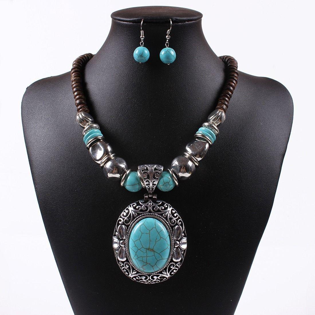 Tibet Fashion Necklace Set