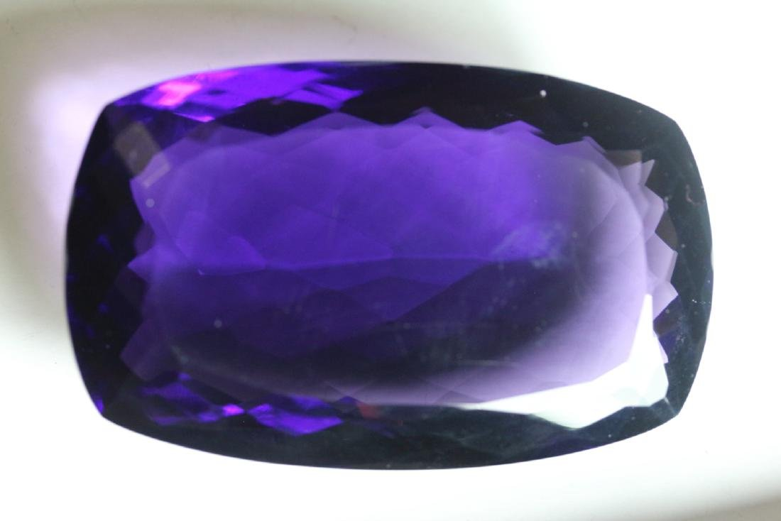 Natural Cushion Amethyst 525.10 carats - VVS